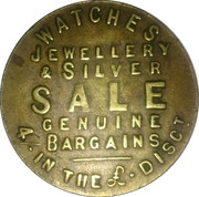 This will bring you good luck *Token – obverse