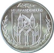 Token - Neubrandenburg (Friedlander Tor) – reverse