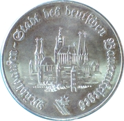 Medal - German Peasants' Wars – reverse