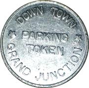 Parking Token - Down Town Grand Junction – obverse