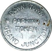 Parking Token - Down Town Grand Junction – reverse