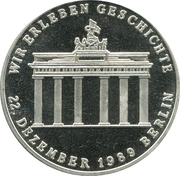 Token - 1015 years of Friedrich V. Schiller – reverse