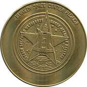 Token - The New Era of Space Exploration (STS-52 Columbia) – obverse