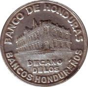 Mint Token (75 Anniversary Bank of Honduras) – obverse