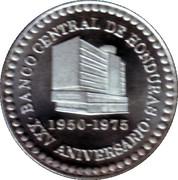 Medal - XXV Anniversary of Central Bank of Honduras 1950-1975 – obverse