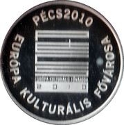 2010 Year set token - Europa – reverse