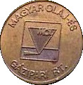 Car Wash Token - MOL (Magyar Olaj) – obverse