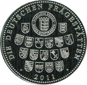 Token - The 200th Anniversary of Ferenc Liszt – reverse