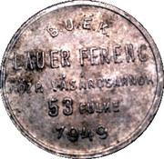 Token - Lauer Ferenc – reverse
