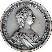 Memorial Student Medallion - Maria Theresia (Metallurgic Academy of Selmec) – obverse