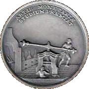 Memorial Student Medallion - Maria Theresia (Metallurgic Academy of Selmec) – reverse
