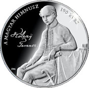 Token - Hungarian Anthem 190 years – obverse