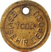 Railways Depot Token - TCDD Eskisehir Deposu – obverse
