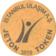 Metro/tram Token - Istanbul – obverse
