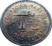 Token - Courtown Harbour – obverse