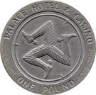 1 Pound - Palace Hotel & Casino – obverse