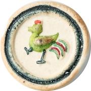 Siam Gambling Token (Rooster) – obverse
