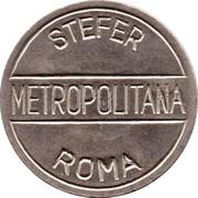 Metro Token - Roma (STEFER Metropolitana) – obverse