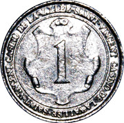 1 - Casino Saint-Vincent – obverse