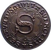 2 Grossi - Monteriggioni - 1554 – obverse