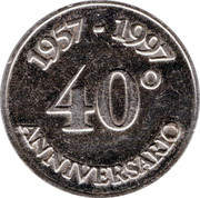 Token - Esselunga (40th Anniversary) – reverse