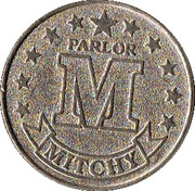 Token - Mitchy Parlor – reverse