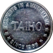 Amusement Token - Taiho – reverse