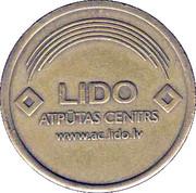 Parking Token - LIDO Recreation Centre – reverse