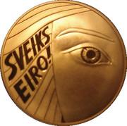 Token - SveiksS Eiro! (Welcome Euro!) – obverse