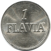 1 Flavia (Vending Machine Token) – obverse