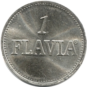 1 Flavia (Vending Machine Token) – reverse