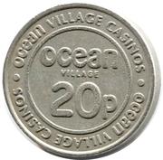 20 Pence - Ocean Village Casinos – obverse