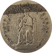 Token - Commemoration of Pope John Paul II's visit to San Marino on 5 May 1983 – reverse
