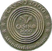 Token - Casino 2000 (Mondorf Les Bains) – reverse