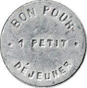 Breakfast Token – obverse