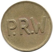 Token - P.R.W – reverse