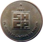 Mexico Mint Token – obverse