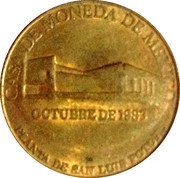 San Luis Potosi mint – reverse