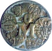 Mexico mint – reverse