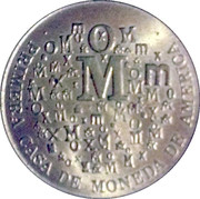 Token - Mexico Mint – reverse