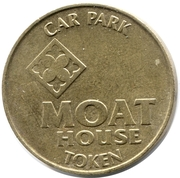Car Park Token -  Moat House – obverse