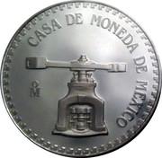 Token - Cuauhtemoc (Medallic Silver Bullion Coinage) – obverse