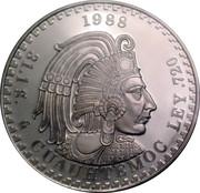 Token - Cuauhtemoc (Medallic Silver Bullion Coinage) – reverse