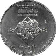 Ninos De Solidaridad commemorative – obverse