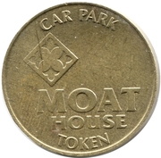 Car Park Token -  Moat House – reverse