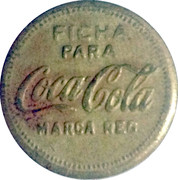 Vending Machine Token - Coca-Cola – obverse