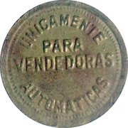 Vending Machine Token - Coca-Cola – reverse