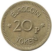 20 Pence - Eurocoin Token (London) – reverse