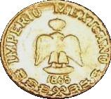 Peso - Maximilian – reverse