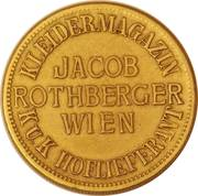 Token - Jacob Rothberger Wien – obverse